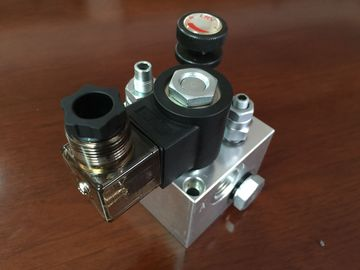 120mm/123mm 상승 유압 장치를 위한 알루미늄 유압 구획 다기관